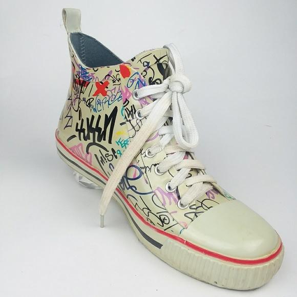 Henry Ferrera Shoes   New York Graffiti